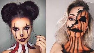 Amazing And Easy Halloween Makeup Tutorials Compilation 2018   MUST SEE