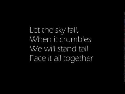 """Adele"" - Skyfall with Lyrics"