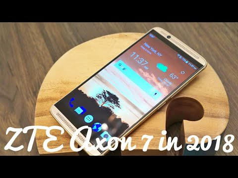 ZTE Axon 7 Review in 2018