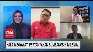 PDI Perjuangan: Ucapan Megawati Soal Milenial Jangan Hanya Dinilai Sepenggal