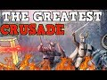 THE GREATEST CRUSADE Crusader Kings 2 100 Stat Man Funny Moments mp3