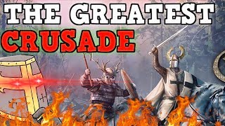 THE GREATEST CRUSADE - Crusader kings 2 100 Stat Man Funny Moments
