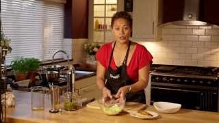 How to make tomato pesto and fresh tagliatelle with Monica Galetti