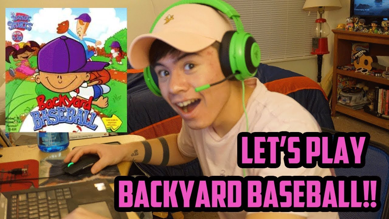 backyard baseball let u0027s play the draft youtube
