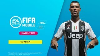 FIFA 19 MOBILE Beta Official Download Android New Graphics