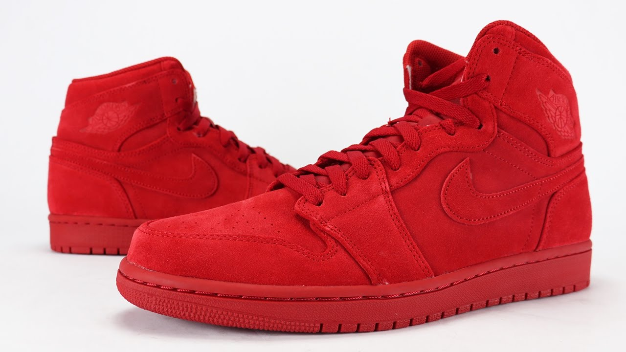 de9470ddfbf1 Air Jordan 1 Red Suede Review + On Feet - YouTube