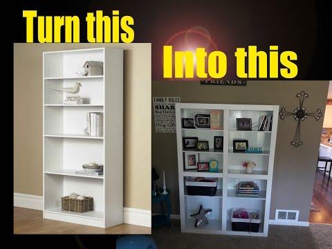 Cheap Bookshelf upgrade for less than $25