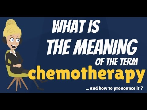 What is CHEMOTHERAPY? What does CHEMOTHERAPY mean? CHEMOTHERAPY meaning, definition & explanation