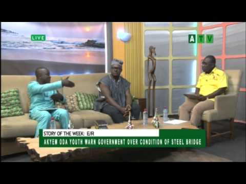 Akyem Oda Youth Warn Government Over Condition Of Bridge