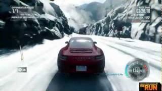 NFS: The Run Porsche 911 Carrera S Gameplay (HD 720p)