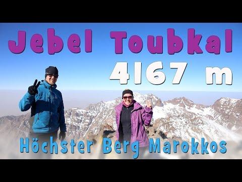 Trekking Jebel Toubkal (4.167m) | Höchster Berg Nordafrikas