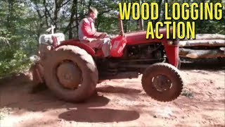 Best Wood Logging Tractor in Action - IMT 539 u Akciji