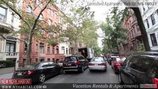 Video Tour of a 1-bedroom Furnished Apartment in Upper West Side, Manhattan