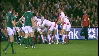 Ireland vs England Rugby 2009
