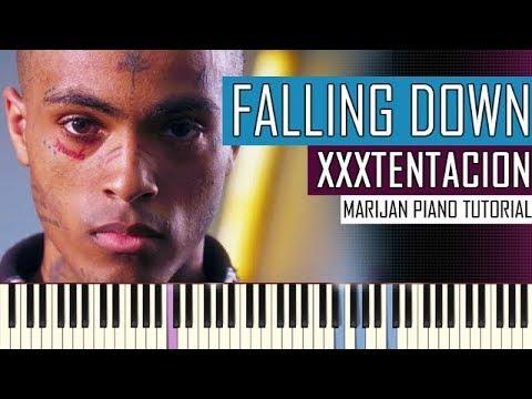 How To Play: Lil Peep & XXXTENTACION - Falling Down   Piano Tutorial