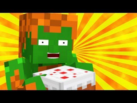Blanka Makes Pound Cake (Minecraft Animation)