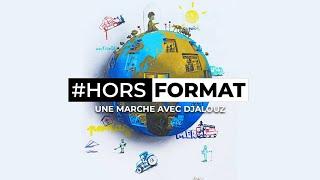 Une marche avec l'artiste Street Art Djalouz - Hors Format