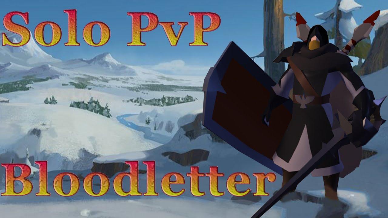 Albion Online. Solo PVP. Bloodletter.