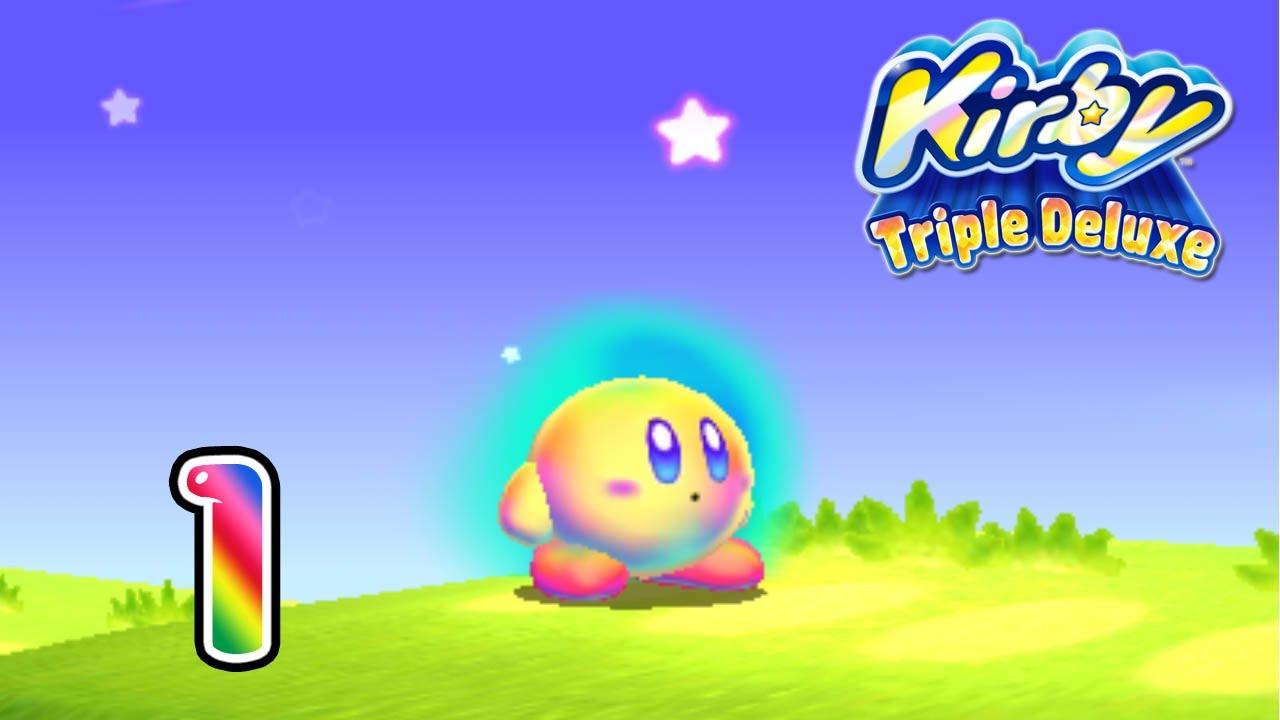 Kirby Triple Deluxe Ita Parte 1 Hypernovah Youtube
