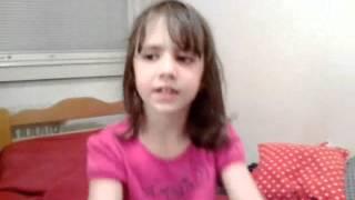 Ana ima 7 a ne 12 godina ali meni se bas dopala ova pesma - 12 jun 2012