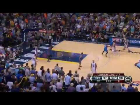 Oklahoma City Thunder Vs Memphis Grizzlies - NBA Playoffs 2013 Game 4 - Full Highlights 5/13/13