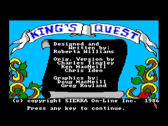 Amiga 500 Longplay [020] King's Quest: Quest For The Crown
