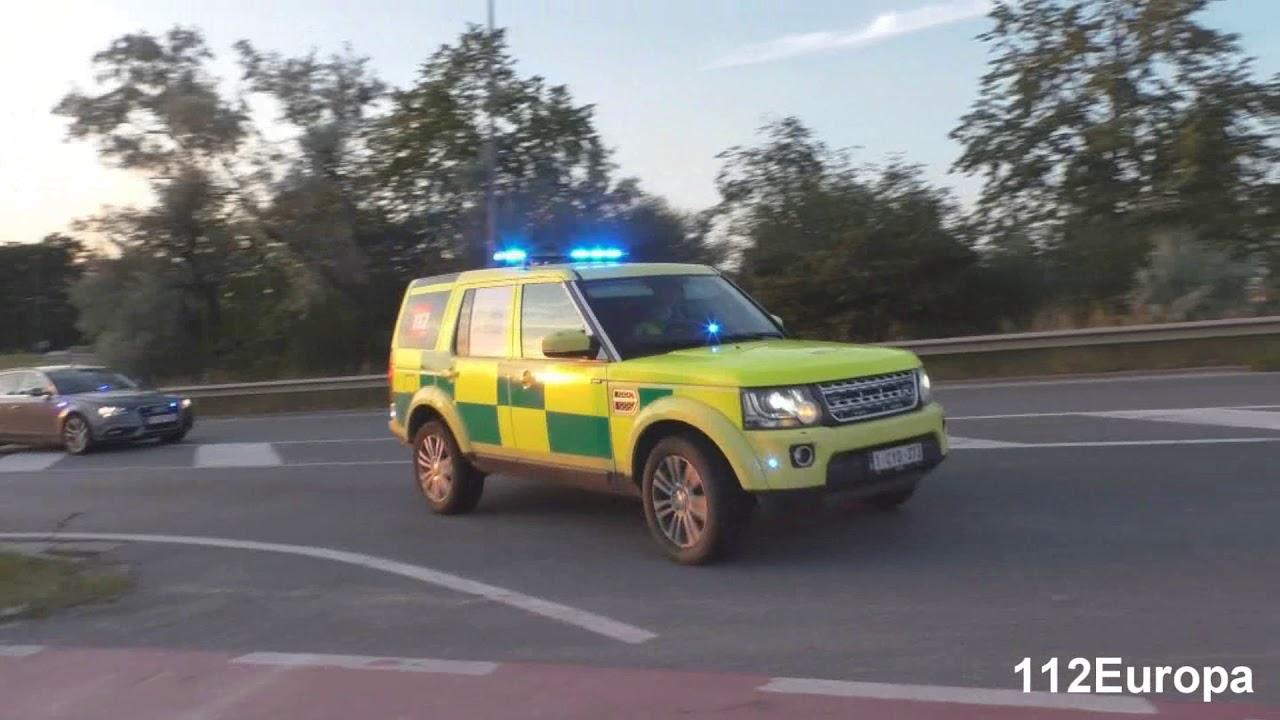Pit ambulance lokeren +Mug dendermonde+Onopvallend politie spoedaankomst uz gent