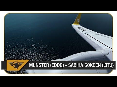 [Prepar3D] Pegasus Airlines - PGT850 | Münster (EDDG) - Sabiha Gokcen (LTFJ) | PMDG NGX