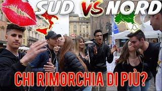 Meridionali VS Settentrionali - Chi prende più BACI dalle RAGAZZE vince! ● NORD vs SUD