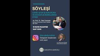 Covid 19'un İş Hukukuna ve Avukatlık Bürolarına Etkisi Birinci Bölüm (instagram canlı yayın)