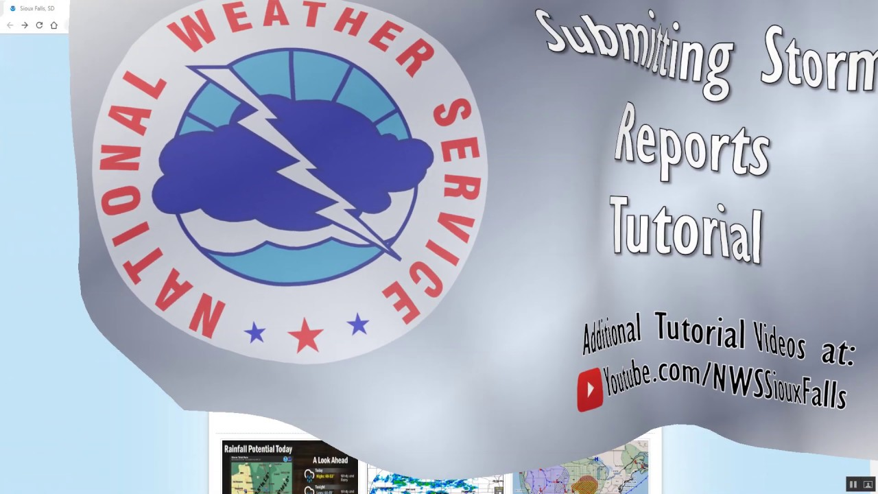 How to Submit a Storm Report