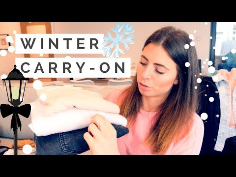 What's in my WINTER CITY BREAK CARRY-ON Luggage?