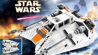 Новинка LEGO Star Wars 2017 UCS Снежный спидер (75144) Обзор Лего Звёздные войны