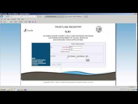 TrustLine Web Application Training Webinar Video