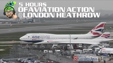 London Heathrow Airport LIVE!