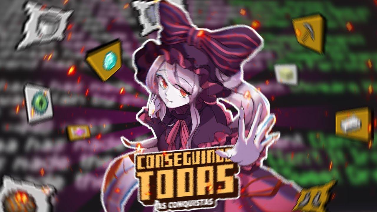 CONSEGUINDO TODAS AS CONQUISTAS DO MINECRAFT - EP 1