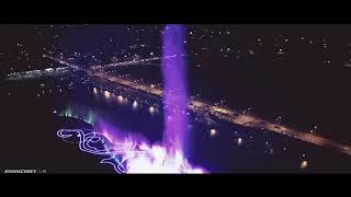 Музыкальный фонтан в Грозном (Аэросъемка DJI MAVIC PRO)