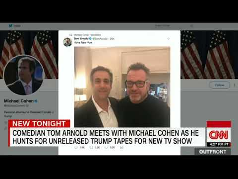 Tom Arnold gives rambling CNN  tom arnold