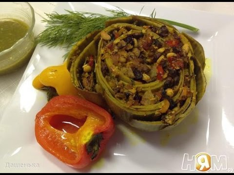 Артишоки - пошаговый рецепт с фото на