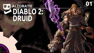Diablo 2 [1]: Un-Bear-able [ Druid | Stupid Builds | Gameplay ]