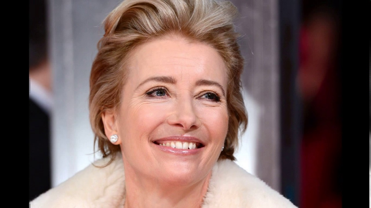Emma thompson haircut short