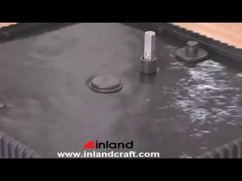 Proper Fill Level of Water/Coolant for Inland Glass Grinders