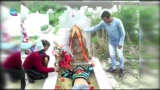 Цигани се гаврят с български гроб
