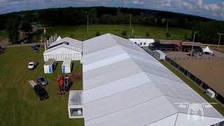 Opbouw Oranjefeest 2017