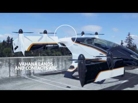 Vahana - беспилотное летающее такси