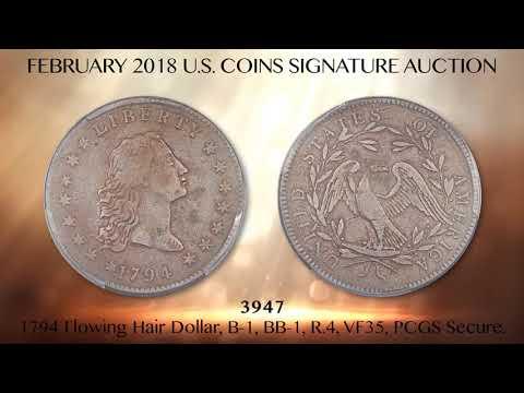 February 2018 Long Beach Expo U.S. Coins Signature Auction
