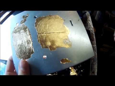 Cambridge Pinstriping, Tutorial Part 11: How to Gold Leaf , metal leaf, Gilding basics