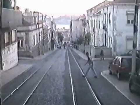 Carris - Eletrico Carreira 18 - 1996 - Lisbon Trams Line 18