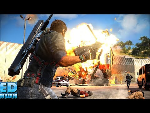Just Cause 3 Rampage & Under the Map Exploration