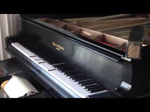 """AMPICO """"HOT LIPS""""  Busse, Lange, Davis. Played by Herbert Clair, asst. by Edgar Fairchild"""